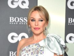 Kylie Minogue reflected on her cancer battle as she won an icon award (Matt Crossick/PA)