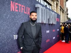 Drake has spoken about his involvement with the new series of Top Boy (Ian West/PA)