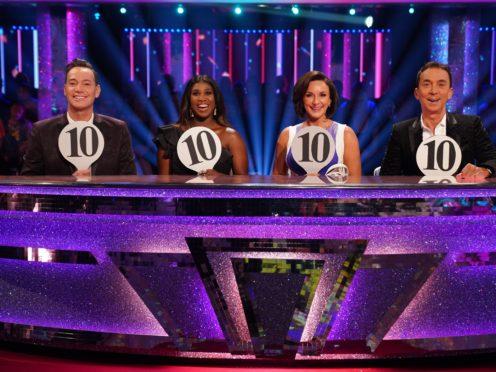 The judges (Kieron McCarron/BBC)