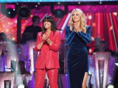 Claudia Winkleman and Tess Daly present week two of Strictly (Kieron McCarron/BBC/PA)