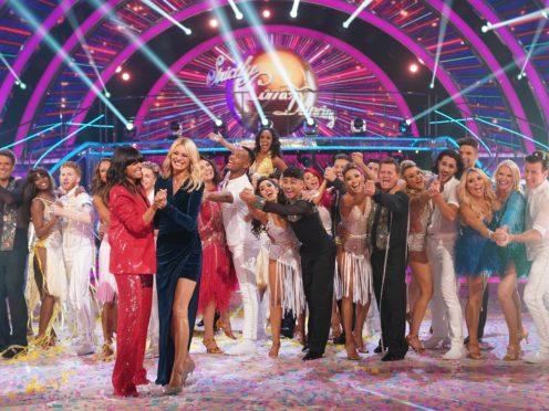 Strictly Come Dancing )(Kieron McCarron/BBC/PA)