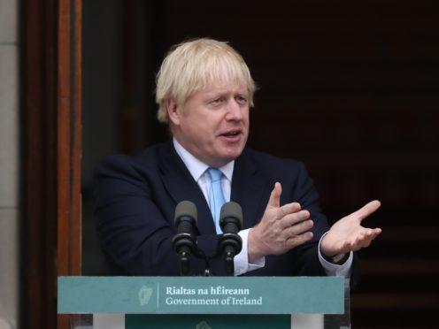 Prime Minister Boris Johnson (Niall Carson/PA)