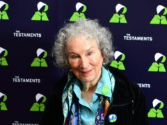 Margaret Atwood, during a press conference (Ian West/PA)