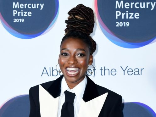 Little Simz during the Hyundai Mercury Prize 2019, held at the Eventim Apollo, London (Ian West/PA)
