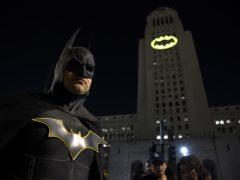It is Batman's 80th anniversary (AP)