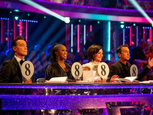 Strictly scored highly in the TV ratings (Guy Levy/BBC)