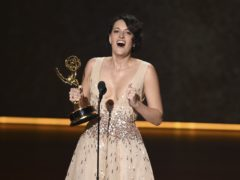 Phoebe Waller-Bridge is the toast of Hollywood after a stunning surprise win at the Emmy Awards (Chris Pizzello/Invision/AP)