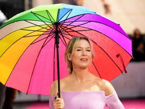 Renee Zellweger arriving for the Judy European premiere held at the Curzon Theatre, Mayfair, London (Ian West/PA)