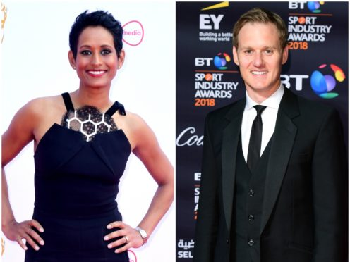 The Naga Munchetty BBC complaint also mentioned co-host Dan Walker, reports claim (PA)