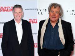 Sir Michael Palin and Terry Jones (Ian West/Jonathan Brady/PA)