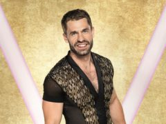 Kelvin Fletcher on Strictly Come Dancing 2019 (BBC/PA)