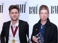 Niall Horan and Noel Gallagher both attended the BMI Awards (PA)