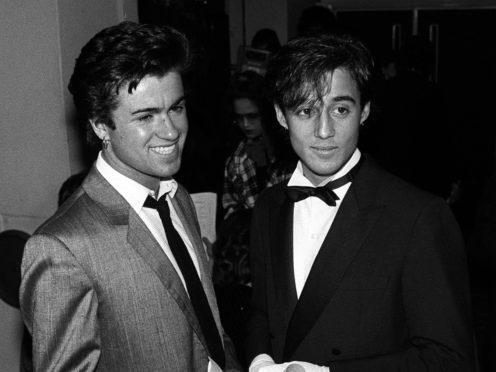 Andrew Ridgeley with George Michael (PA)