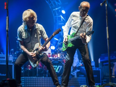 File picture of the late Rick Parfitt (left) and Francis Rossi of Status Quo (David Jensen/PA)