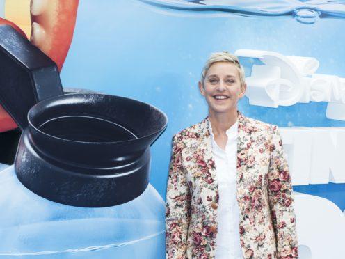 Ellen DeGeneres has defended her friendship with former US president George W Bush (David Jensen/PA)