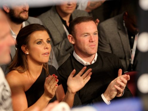 Coleen Rooney has caused an online sensation (Richard Sellers/PA)