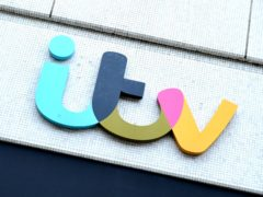 The ITV logo on The London Studios (PA)