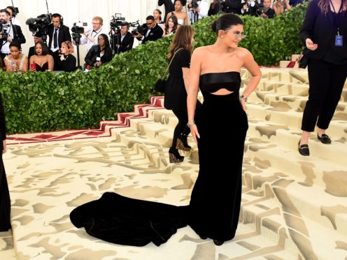Kylie Jenner attending the Metropolitan Museum of Art Costume Institute Benefit Gala 2018 in New York (Ian West/PA)