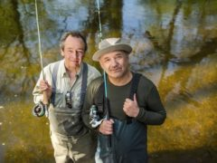 Paul Whitehouse (left) and Bob Mortimer have appeared in two series of their BBC show (Parisa Taghizadeh/PA)