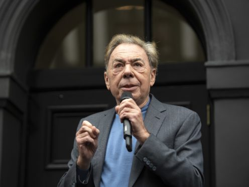 Lord Lloyd-Webber has criticised successive governments for cutting the music budget in schools (Victoria Jones/PA)