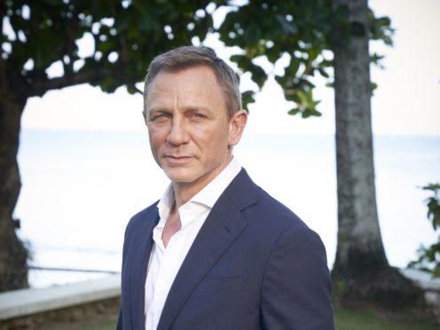 Daniel Craig at the Goldeneye villa in Jamaica (Rushard Weir)