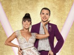 Will Bayley with his dance partner Janette Manrara (Ray Burmiston/BBC)