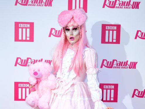 Scaredy Kat attending the RuPaul Drag race premiere (Ian West/PA)