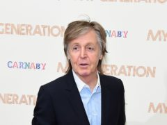 Sir Paul McCartney is celebrating another Beatles record (Ian West/PA)