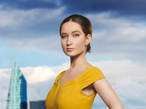 Lottie Lion, one of the new candidates for this year's BBC One contest The Apprentice. (BBC/PA)