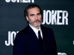 Joaquin Phoenix attending a special screening of the Joker held at Cineworld, Leicester Square in London (Ian West/PA)