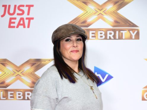 Ricki Lake attending the launch of The X Factor: Celebrity (Ian West/PA)
