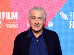 Robert De Niro has criticised Donald Trump as a 'dirty player' and said 'he won't get away with it forever' (Ian West/PA)