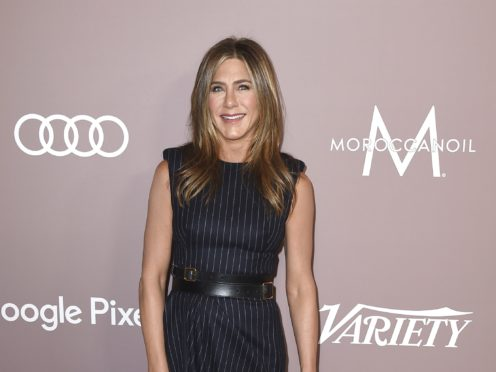Jennifer Aniston has thanked fans after her record-breaking start to life on Instagram brought technical difficulties to the social media platform (Jordan Strauss/Invision/AP)