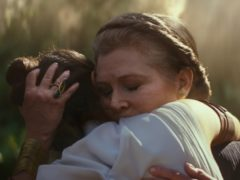 General Leia Organa (Carrie Fisher) and Rey (Daisy Ridley) in STAR WARS: THE RISE OF SKYWALKER (c) 2109 ILM and Lucasfilm Ltd.