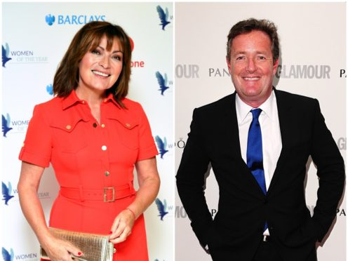 Lorraine Kelly and Piers Morgan (PA)