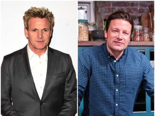 Gordon Ramsay is on The Jonathan Ross Show (PA)