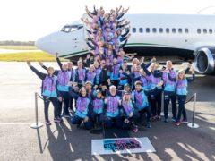 Chris Evans and over 50 Virgin Radio listeners leave for Amsterdam (Virgin Radio/PA)