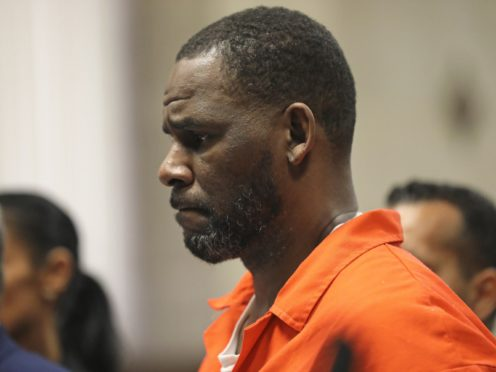R Kelly in court in Chicago (Antonio Perez/Pool via AP)