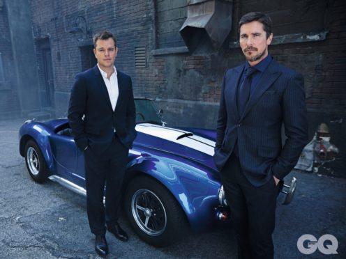 Matt Damon and Christian Bale for British GQ (Sam Jones/British GQ/PA)