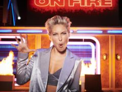Emma Willis on Pants On Fire (Channel 4/PA)