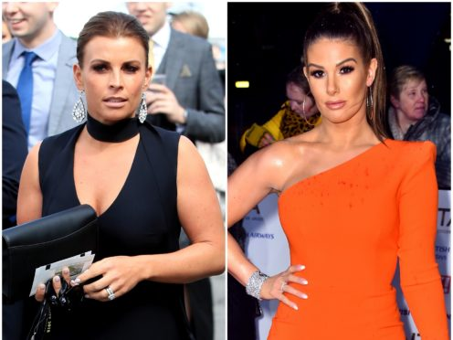 Rebekah Vardy said she has been 'inundated' with messages amid her row with Coleen Rooney (PA)
