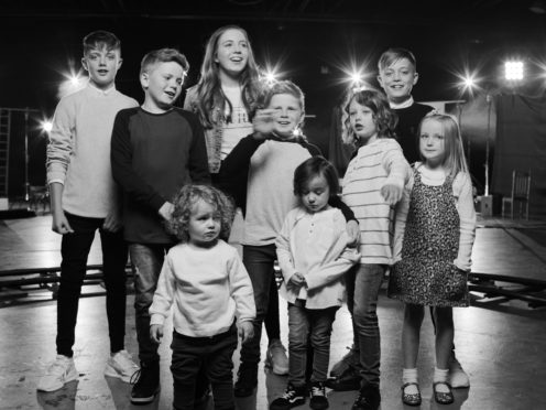 Westlife have released an emotional new music video featuring the band members' children (Westlife/PA)