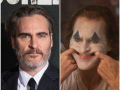 Joaquin Phoenix as the Joker (Warner Bros Entertainment Inc/DC Comics/Niko Tavernise/PA)