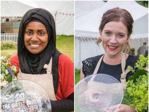 Nadiya Hussain and Candice Brown (Love Productions/BBC)
