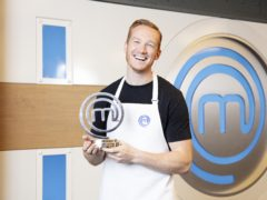 Greg Rutherford has been crowned the winner of Celebrity MasterChef (BBC/PA)