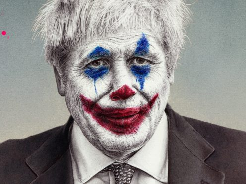 Boris Johnson as The Joker (James Mylne/PA)
