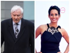 Harvey Proctor and Naga Munchetty (Dominic Lipinski/Ian West/PA)