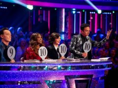 The Strictly judges (BBC/Guy Levy)