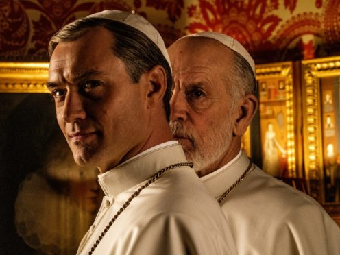 Jude Law and John Malkovich in The New Pope (Gianni Fiorito)