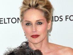 Sharon Stone asked the audience to recreate the famous scene (Elizabeth Pantaleo/PA)